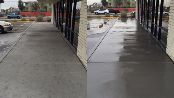 exterior commercial power wash